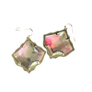 NEW Gold KIRSTEN AB Iridescent Earrings